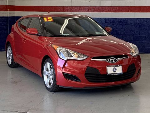 Pre-Owned 2015 Hyundai Veloster 3DR CPE AT